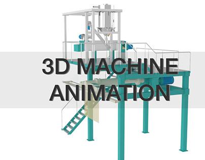 3D Spaghetti Pasta Machine Animation Project