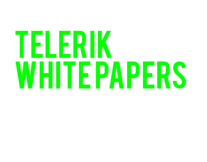 Telerik White Papers