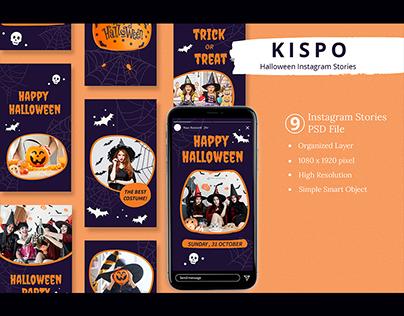 Kispo - Halloween Instagram Stories Template