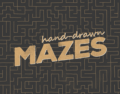 Hand-drawn Mazes