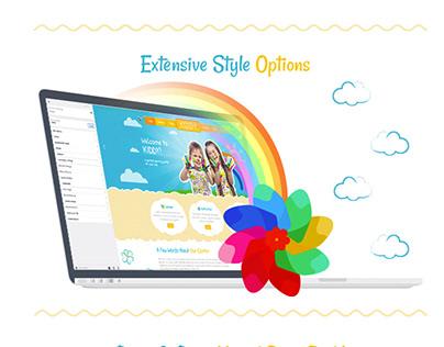 Kiddy Children WordPress Theme