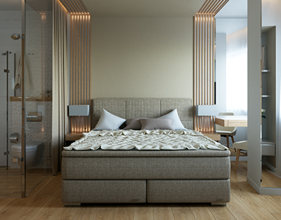 Bedroom [ Modern Beige ]