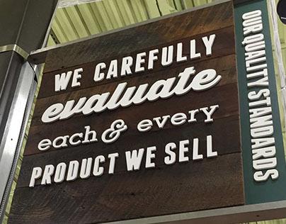 Whole Foods Signage