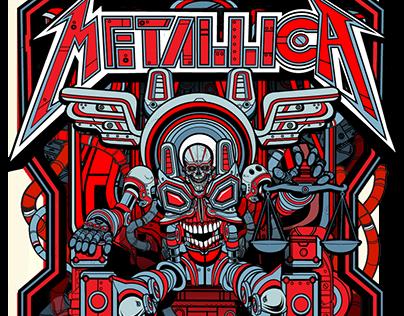 Metallica VIP Poster