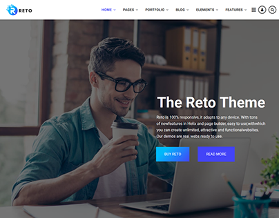 Reto - Most Customizable Joomla Theme