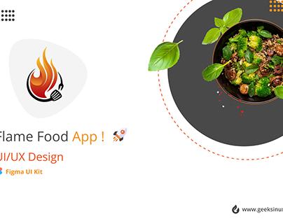 Flame Food App
