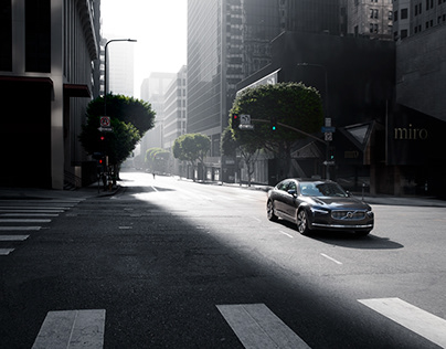 LA Cruising for Volvo | Paul Barshon