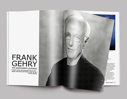 Frank Gehry Magazine