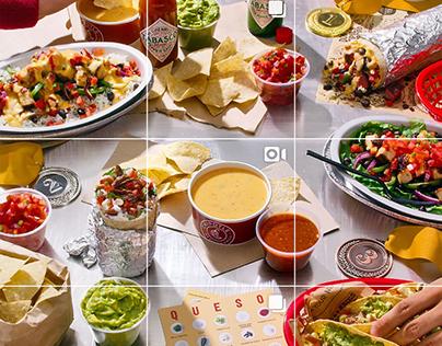 Chipotle Interactive Instagram Photo / Video Grid