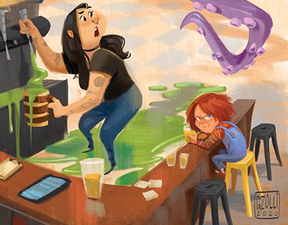 Geek's Beer Poster