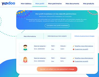 Yoodoo - Application web