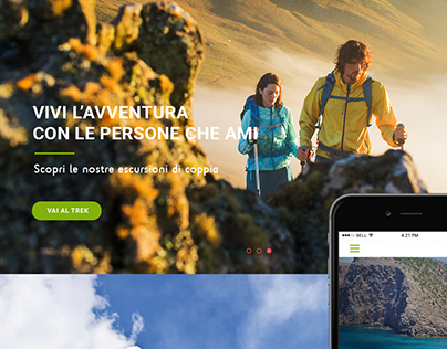 Redesign website  - Trekking Association