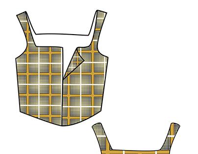 CAD - Fashion illustrator by Bhanu Jaggi