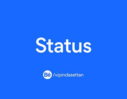 Social Media Status & Stories