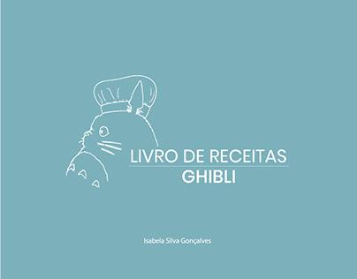 Ghibli - Livro de receitas