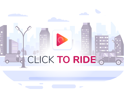 """Taxi App """"Click To Ride"""""""