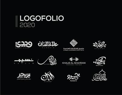 Arabic Typography logofolio