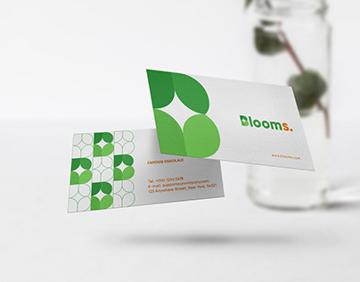 Blooms Brand Identity
