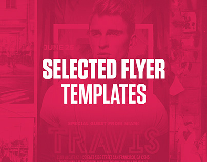 Selected Flyer Templates