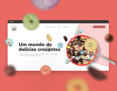 Cereal World — Website Design & Development