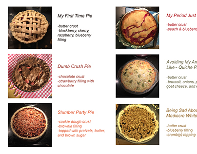 Pies as Process
