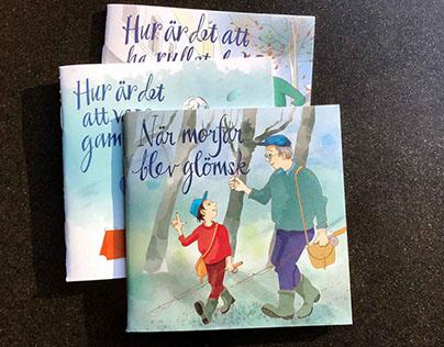 Små böcker för barn. Small children's books.