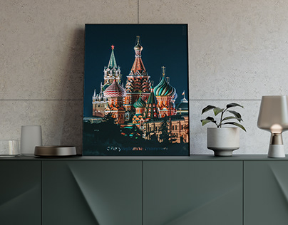 Poster Design: Moscow does not believe in tears
