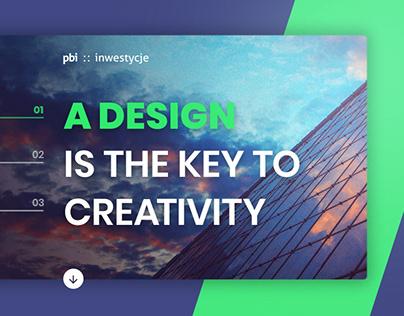 PBI Investments. Brand and web design.