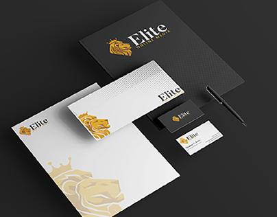 Elite Online Media Band Identity Design