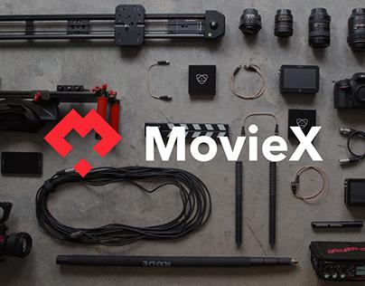MovieX - Identity Design.
