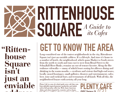 A Guide to the Cafes of Rittenhouse Square