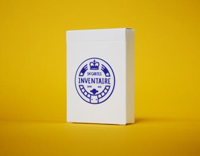 Inventaire - 54 cartes à jouer
