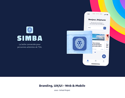 SIMBA - Daily helping app and connected box 💙