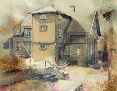 Demolished House Recreated