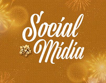 Social Mídia - Natal e Ano Novo
