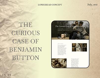 "UX / UI concept ""The Curious case of Benjamin Button"""