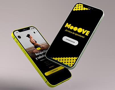 Moove - Fitness App UX/UI