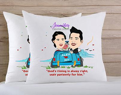 Wedding Gift Caricature Style