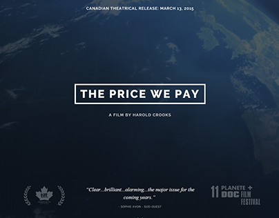 The Price We Pay - The Film's Website