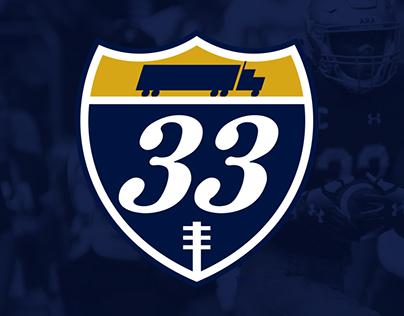 #33Trucking Logo Design