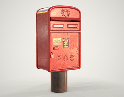 Malaysian Mailbox (Low Poly)