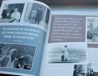 A Life in Review: Memory Book