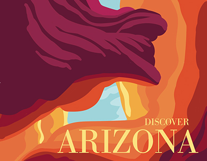 Limited-Palette Travel Posters