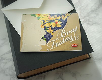 Greeting Card / Boas Featas