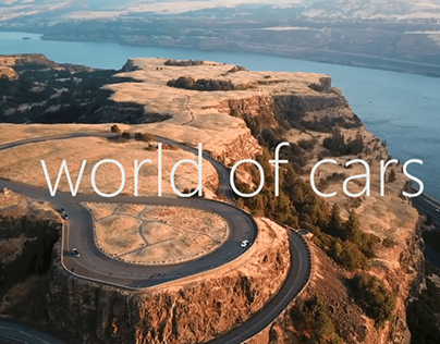 the world of cars