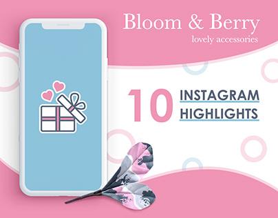 Bloom&Berry Instagram Highlights