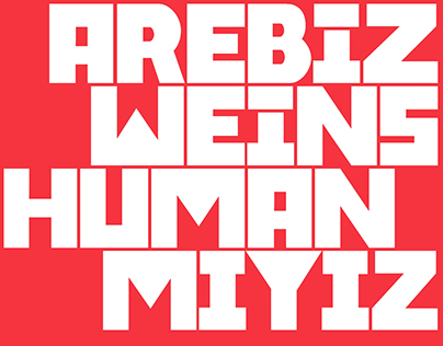"3rd Istanbul Design Biennial — ""Are We Human?"""