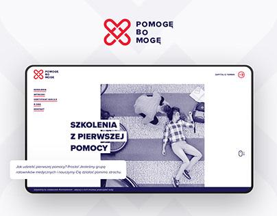 Pomogę Bo Mogę – Website
