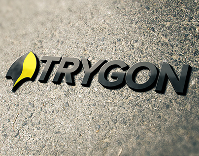 whitegraphic | Logo design | TRYGON