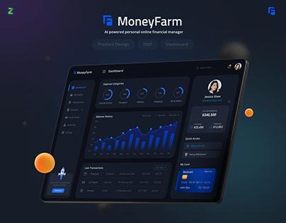 MoneyFarm - AI Powered Online Financial Manager